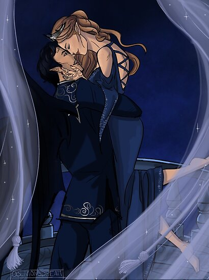 Image result for feyre and rhysand
