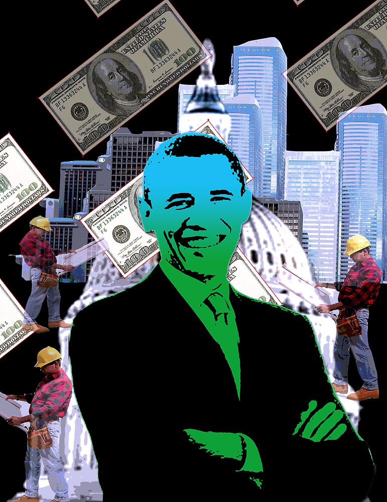 Faith in Barack Obama in the economy by Jesse Cole