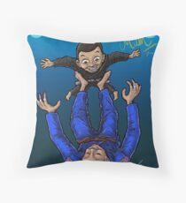 Jiu Jitsu Mum Throw Pillow