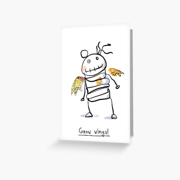Ragdoll grow wings! Greeting Card