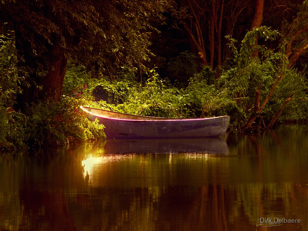 boat by Dirk Delbaere