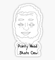 Pointy Head Skate Crew Sticker