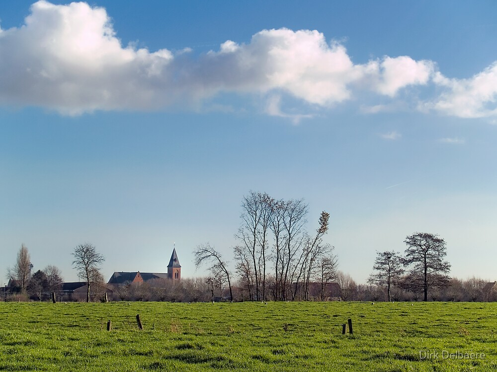 Belzele; Belgium by Dirk Delbaere