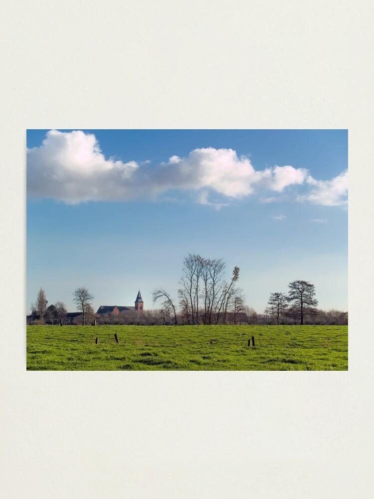 Alternate view of Belzele; Belgium Photographic Print