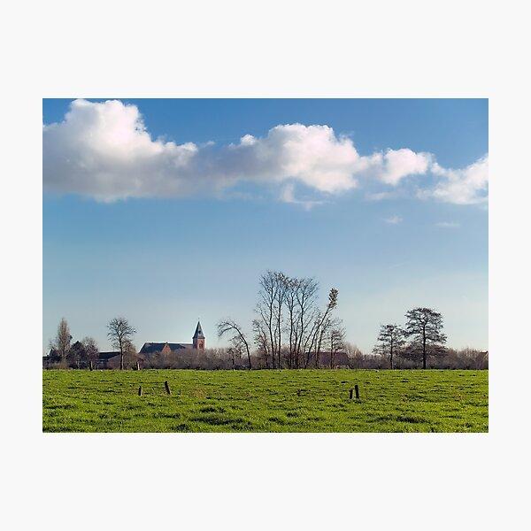 Belzele; Belgium Photographic Print