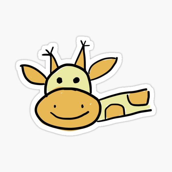 Cute Giraffe Sticker