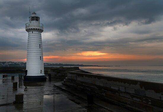 Donaghadee Lighthouse by Colin Majury