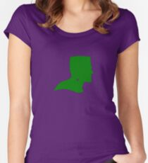 Frankenstein the green Women's Fitted Scoop T-Shirt