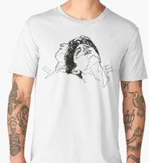 Elio and Oliver CMBYN Call me By Your Name line art Men's Premium T-Shirt