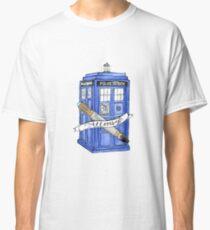 10th Doctor's Tardis, Sonic, and Saying Classic T-Shirt