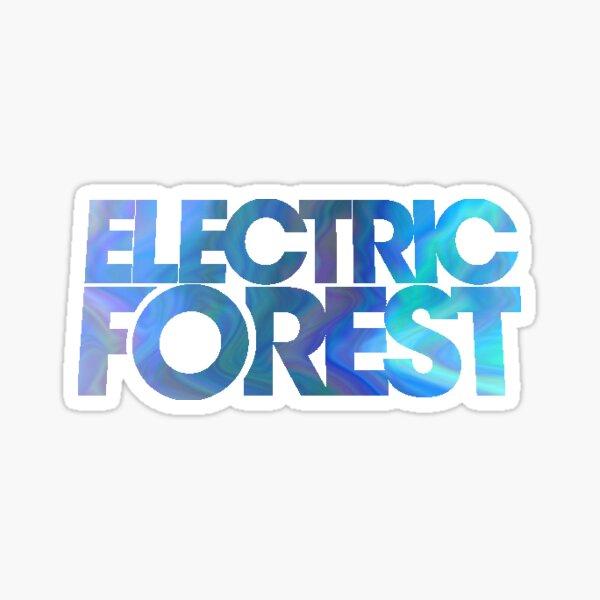 Electric Forest Logo Sticker