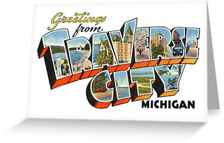 Greetings from traverse city michigan greeting cards by reapolo greetings from traverse city michigan by reapolo m4hsunfo