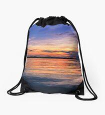 Borneo sunset dreams Drawstring Bag