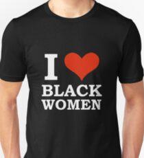 i love black women t shirt