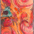Bird in sunset  by Dottie Phelps   Visker