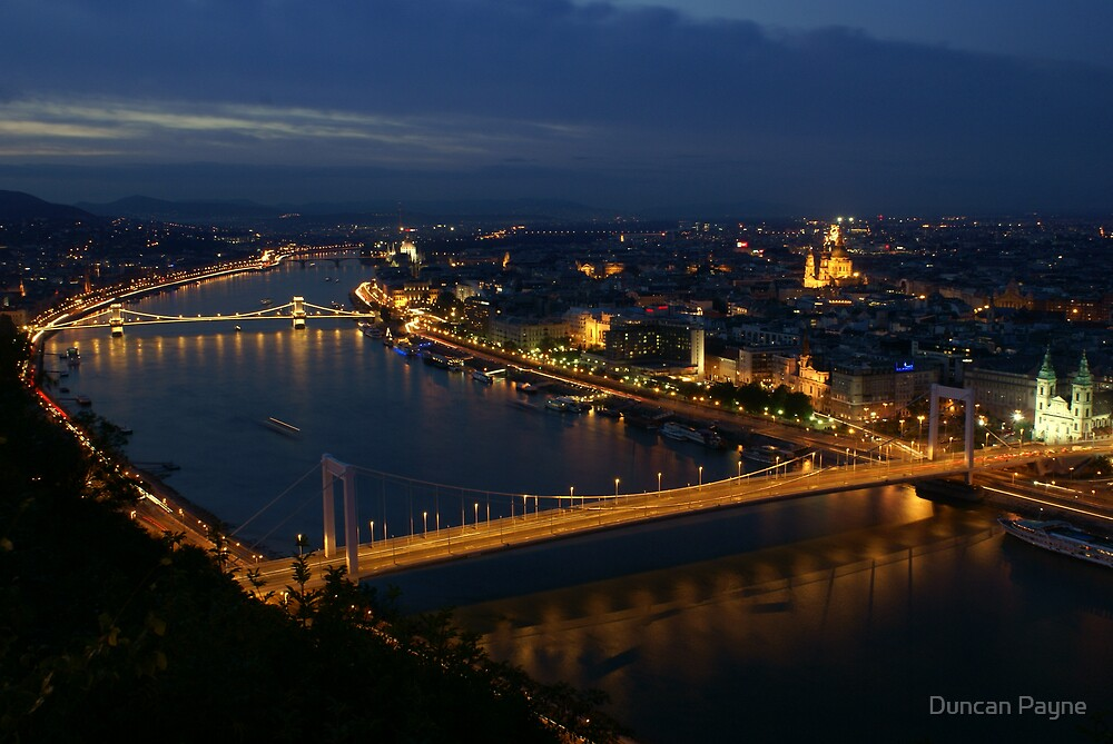 Budapest By Night by Duncan Payne
