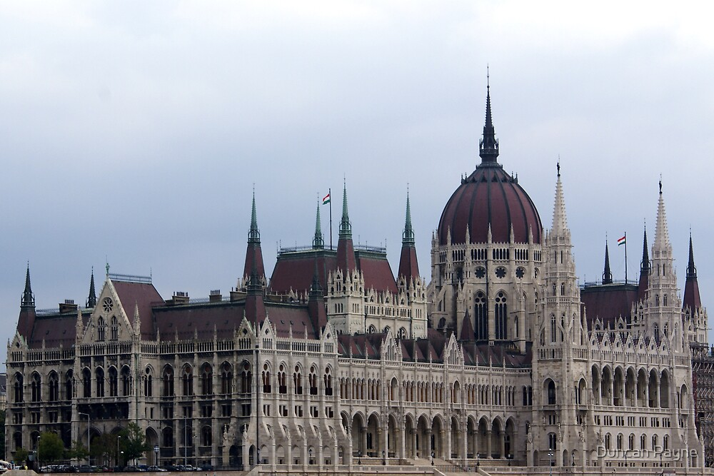 Budapest Parliament by Duncan Payne