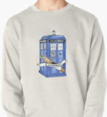 11th Doctor's Tardis, Sonic, and Saying Pullover