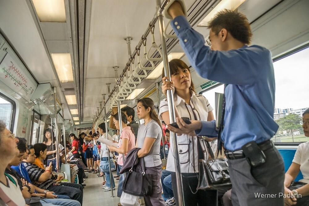 Singapore MRT by Werner Padarin
