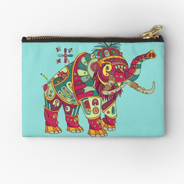 Mammoth, from the AlphaPod collection Zipper Pouch