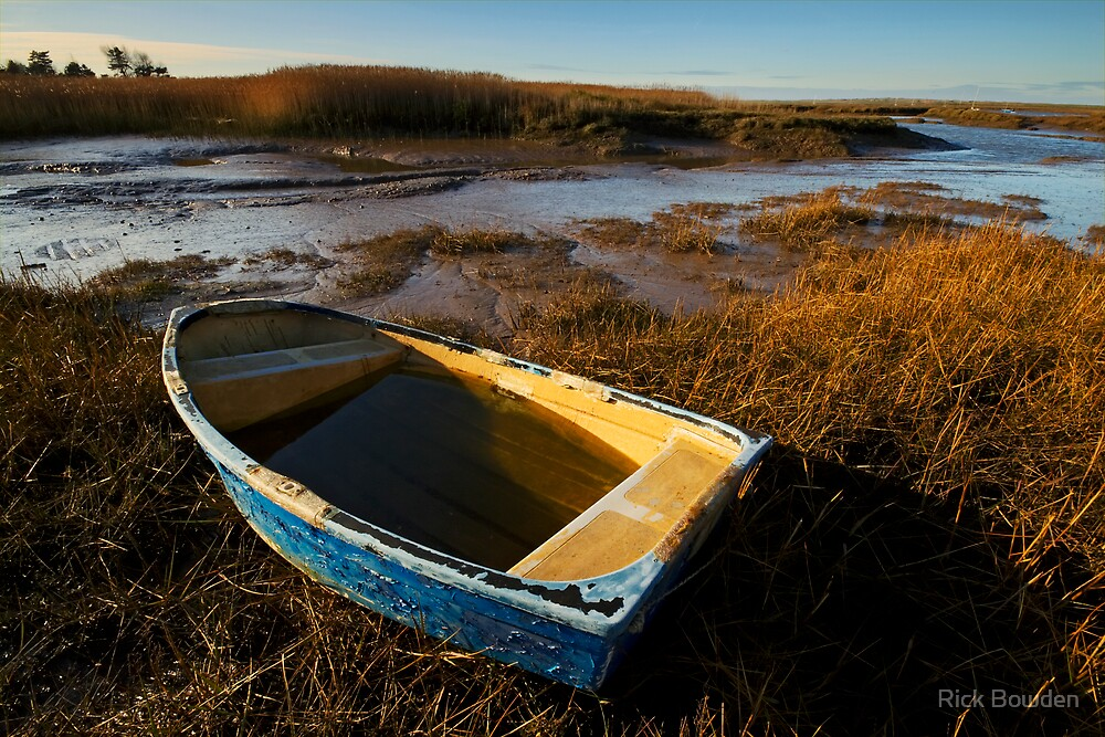 Blue Boat by Rick Bowden
