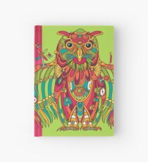 Owl, cool art from the AlphaPod Collection Hardcover Journal