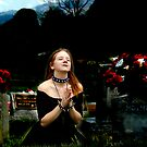 Composited Artist Gothic Cemetary Image by Clayton Bruster