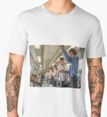 Singapore MRT Men's Premium T-Shirt