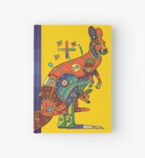 Kangaroo, from the AlphaPod collection Hardcover Journal