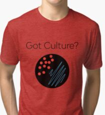 Camiseta de tejido mixto ¿Tienes cultura? 1