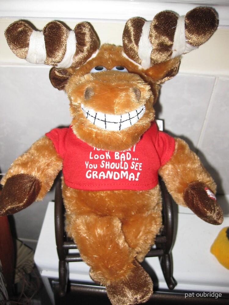 Rocking Reindeer by pat oubridge