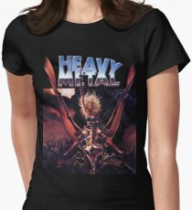 Heavy Metal Movie Womens Fitted T-Shirt