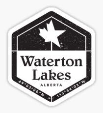 Waterton Lakes, Alberta Sticker
