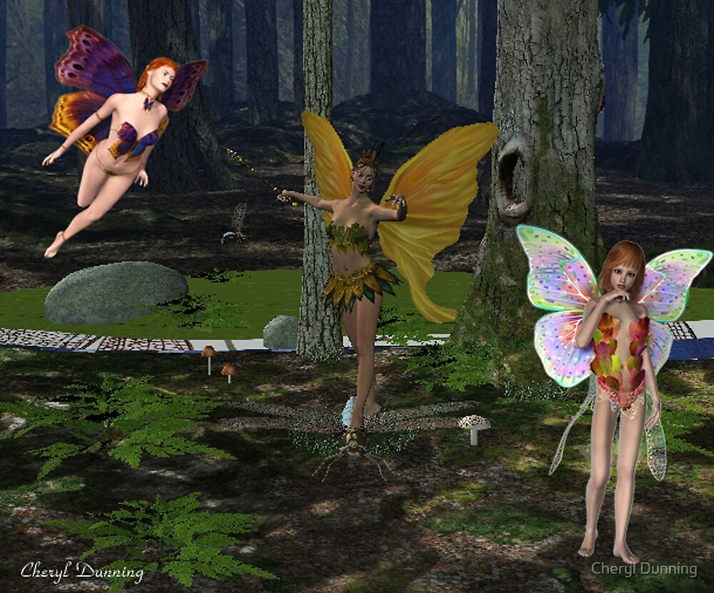 fairy party by Cheryl Dunning