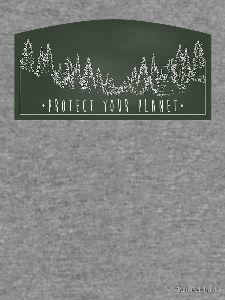 Protect Your Planet sticker by sampalahnukart