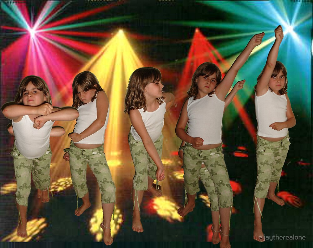 Disco Dancing by eljaytherealone
