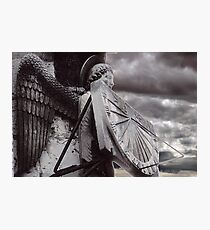 Chartres Angel Photographic Print