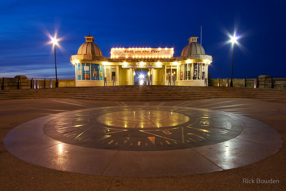 Cromer Pier Entrance by Rick Bowden