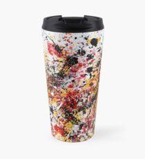Colorful Splatter Paint Travel Mug