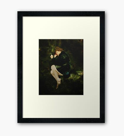 Where I choose to lay my head is no decision of yours Framed Print