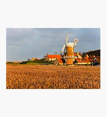 Cley Windmill Photographic Print