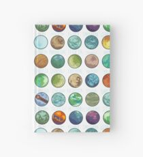 Star Wars Planets Pattern Hardcover Journal