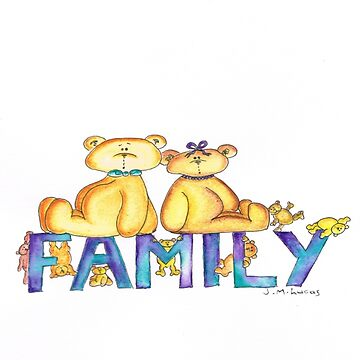 We are Family! by artbyjanelucas