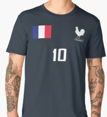 France Jersey Shirt World Cup French Football Men's Premium T-Shirt