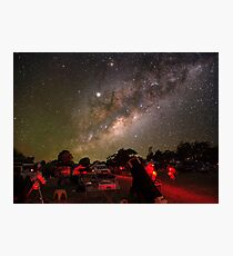 Observing the Milky Way Photographic Print
