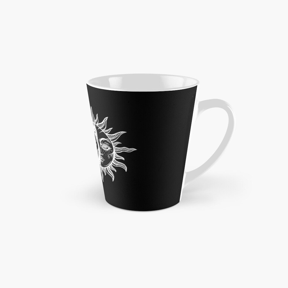 Vintage Sun and Moon Solar Eclipse Mugs