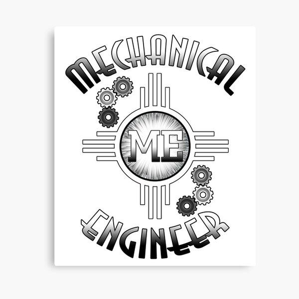 Mechanical Engineer Gears Of Progress Canvas Print