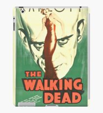 Vintage Horror Movie Poster, T-Shirt, Karloff, Dead iPad Case/Skin