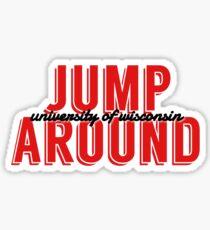Jump Around Sticker