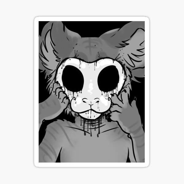 Behind The Mask Sticker